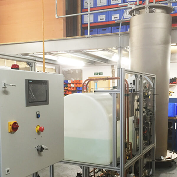 Hyperbaric Test System designed for testing Chemical Injection Metering Valve's