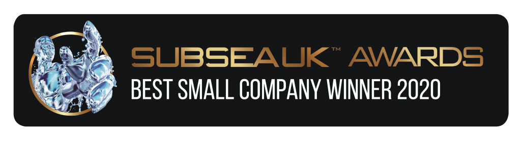 KW Designed Solutions won the Subsea UK Awards 'Best Small Company' 2020