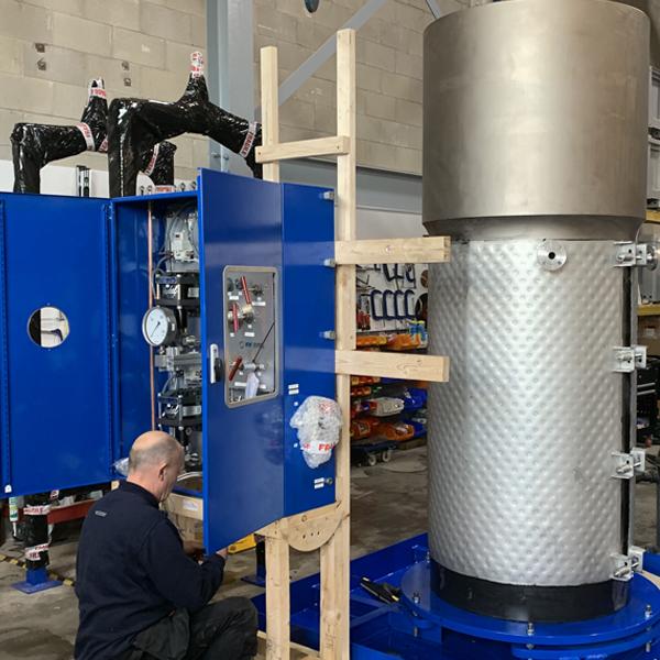 High Pressure Testing with Temperature Control