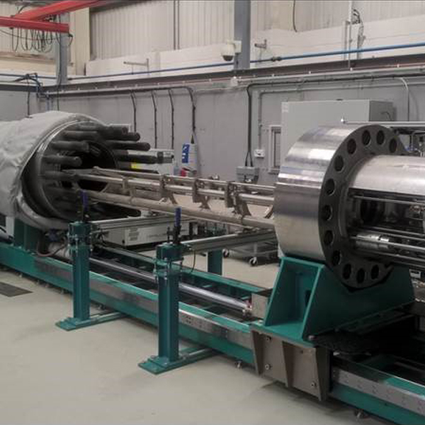High Pressure Testing Systems with Media Separation